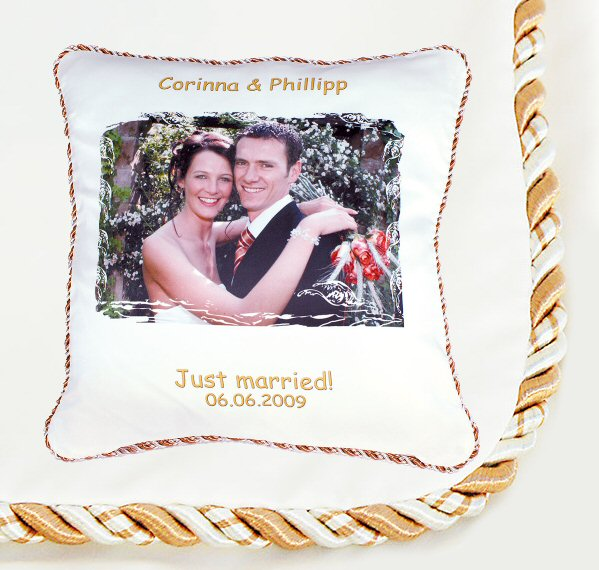 coussin torsade or