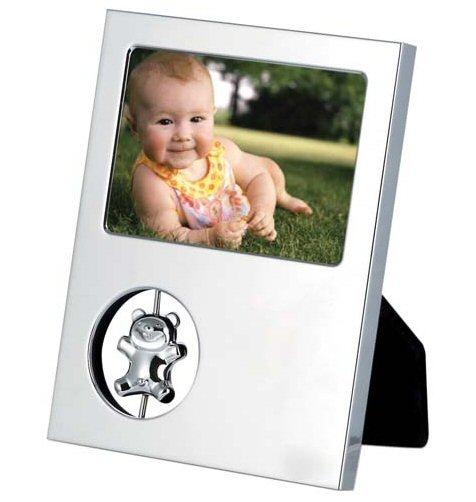 un cadre photo d coratif avec un d cor ourson et design offrir en cadau de famille. Black Bedroom Furniture Sets. Home Design Ideas