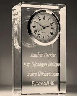 Horloge photo laser