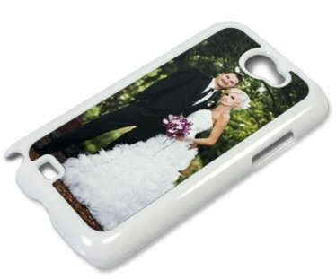 Coque blanche photo pour galaxy Note 2