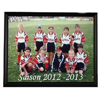 Plaque photo prestige en bois