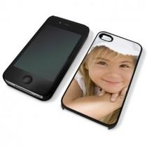 Coque souple noire photo pour iphone 4 ou 4S